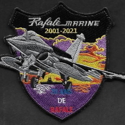 12 F - Rafale Marine - 20 ans de Rafale