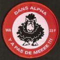 23 F - ATL 2 - WA - Dans l'Alpha - y'a pas de meeee !!!