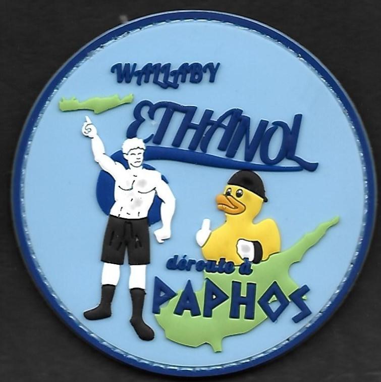 23 F - ATL 2 - WE - WALLABY Ethanol - déroute à Paphos