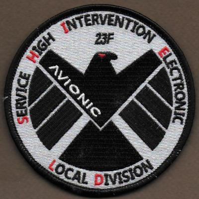 23 F - AVIONIC - Service High intervention Electronic - Local Division