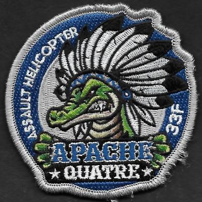 33 F - Assault Helicopter - Apache Quatre