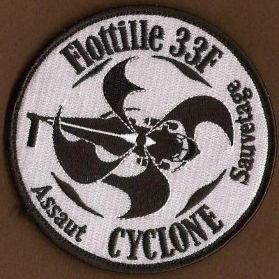 33 F - Flottille 33 F - Cyclone - Assaut Sauvetage - mod 1