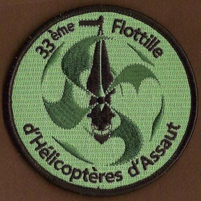 33 F - Flottille 33 F - d'Hélicoptères d'assaut