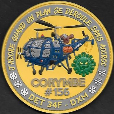 34 F - DET DXM - CORYMBE #156 - J'adore quand un plan se déroule sans accroc