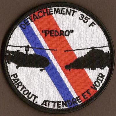 35 F - détachement Pédro - Partout, attendre et voir