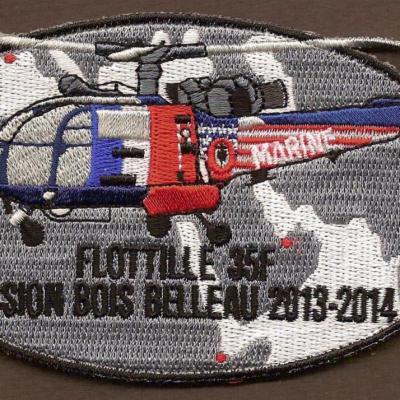 35F - Alouette PEDRO - Mission Bois Belleau 2013_2014