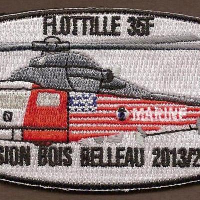 35F - Dauphin PEDRO - Mission Bois Belleau 2013_2014