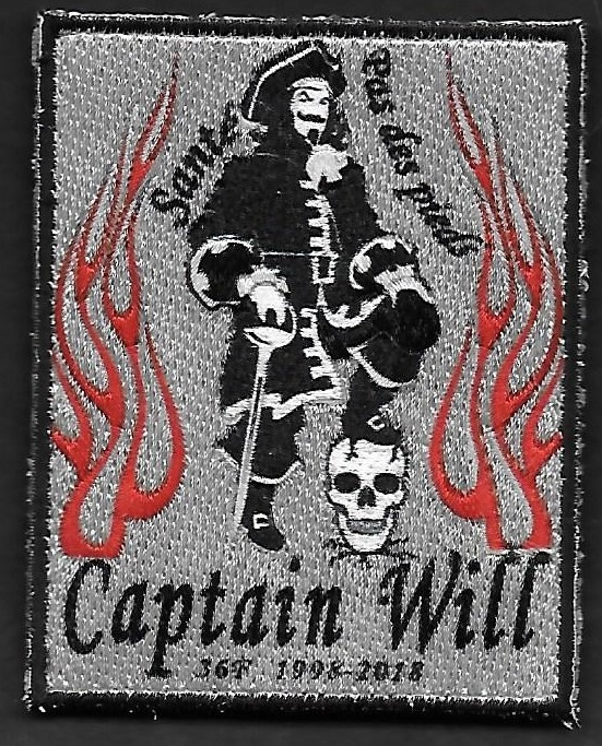 36 F - Captain Will  - 1998 - 2018 - Santé, pas des pieds