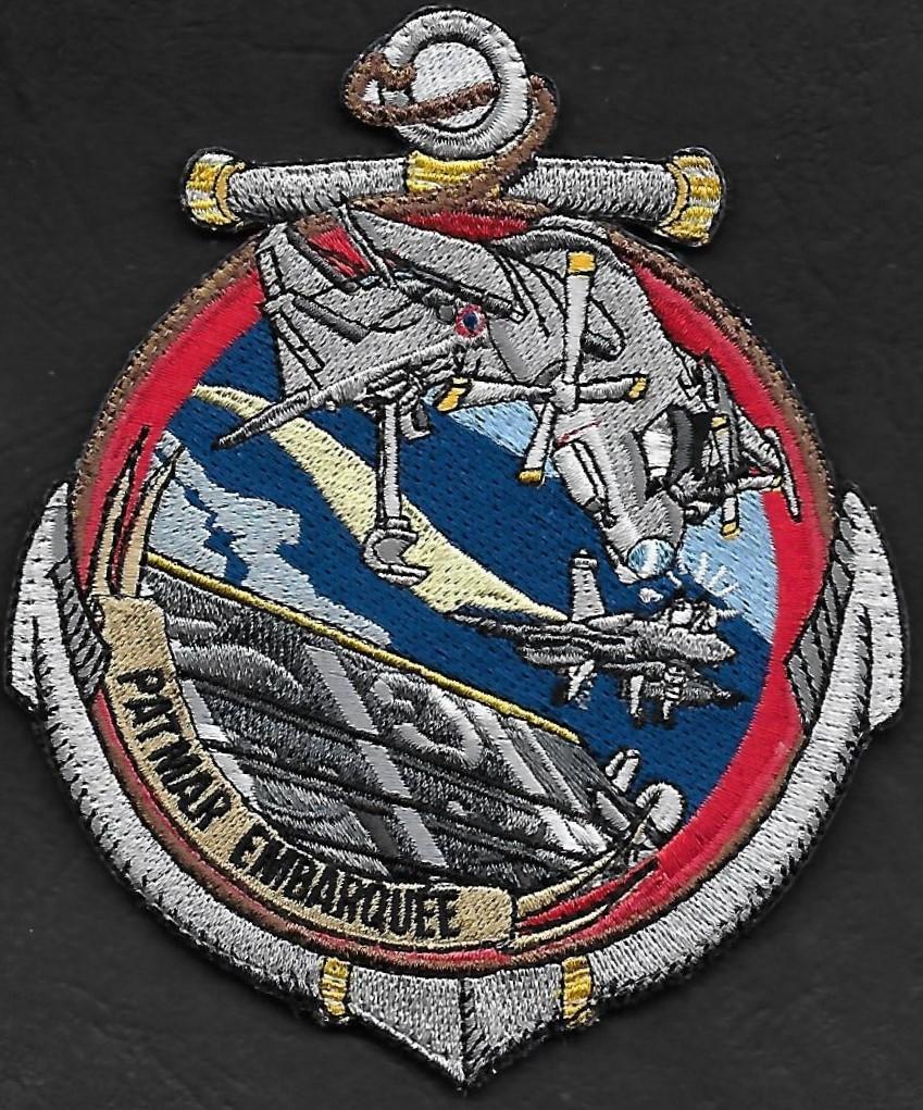 4 F - Préparateur de mission - Patmar embarquée