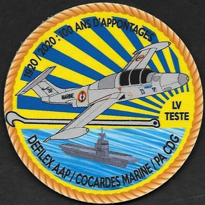 AAP - Defilex - AAP Cocardes Marine Pa CDG - 1920_2020 100 ans d'appontages