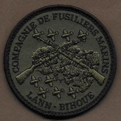 BAN lann Bihoué - Compagnie de Fusiliers Marins - mod 3