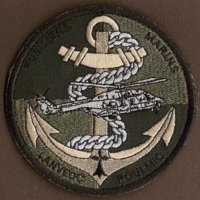 BAN Lanveoc Poulmic - Fusiliers Marins - basse visibilité