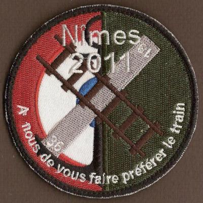 BAN Nîmes Garons - 2011 - A nous de vous faire préférer le train