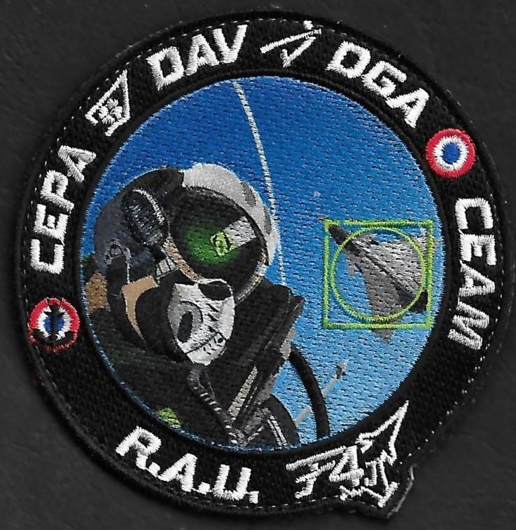 CEPA - Dassault Aviation - DGA - CEAM - RAU Rafa F4