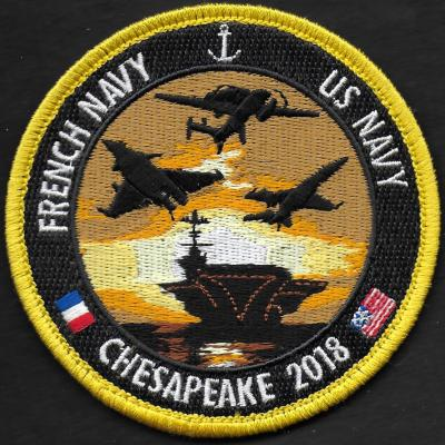 Chesapeake 2018 - French navy - US Navy