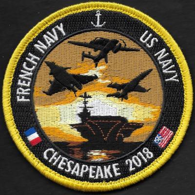 Chesapeake 2018 - French navy - US Navy