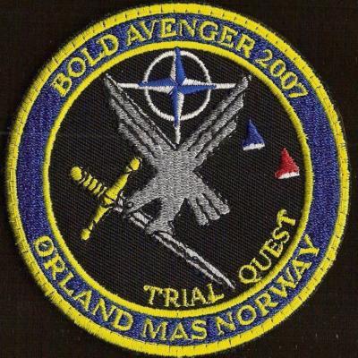 Exercice Bold Avenger 2007