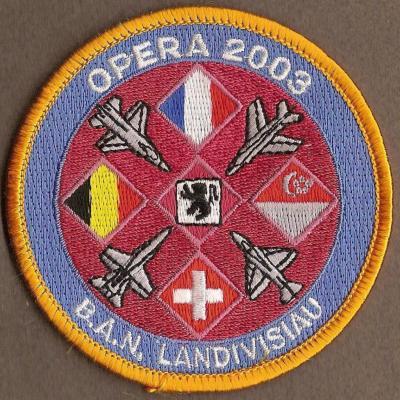 Exercice Opéra 2003 - BAN Landivisiau