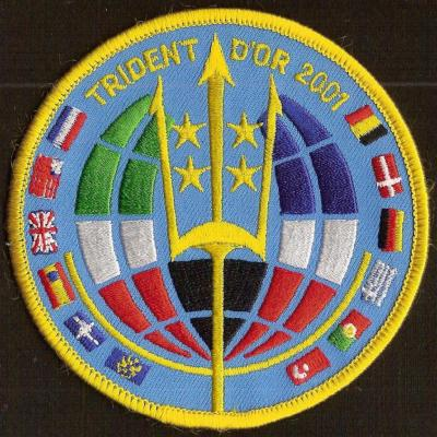 Exercice  TRIDENT D'OR 2001