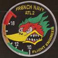 French Navy -  Atl2 - Flight engineer - mod 1