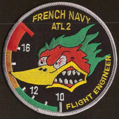 French Navy -  Atl2 - Flight engineer - mod 1