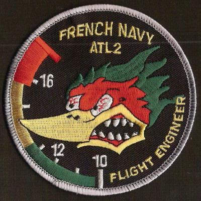 French Navy -  Atl2 - Flight engineer - mod 2