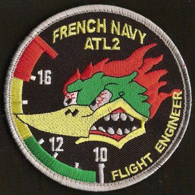 French Navy -  Atl2 - Flight engineer - mod 3