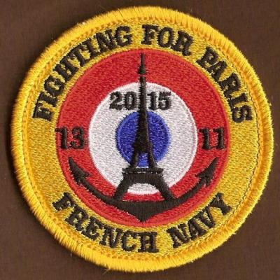 FRENCH NAVY - FIGHTING FOR PARIS 13_11_2015