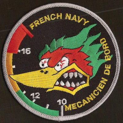 French Navy - mécanicien de bord