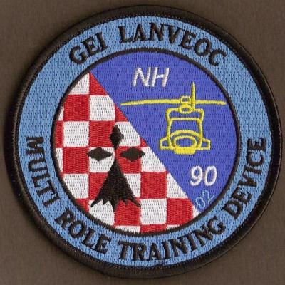 GEI  - Lanvéoc - NH90 - Multi Role Training Device - numéroté