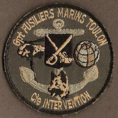 Groupement Fusiliers Marins Toulon - compagnie Intervention
