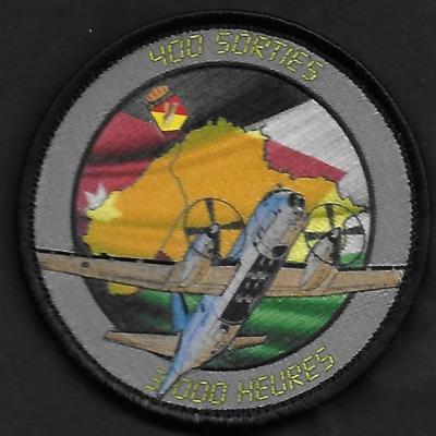H5 - Jordanie - 400 sorties - 3000 Heures de vols sur la Syrie