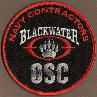 Navy Contractors - OSC - Black Waters