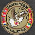 Opération Enduring Freedom - We will not fail - mod 4