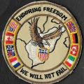 Opération Enduring Freedom - We will not fail - mod 5