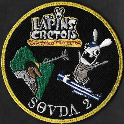 Opération Unified protector - Souda 2 - Les lapins crétois
