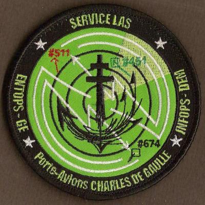 PA Charles de Gaulle - service LAS - ENTOPS GE - InfOPS DEM