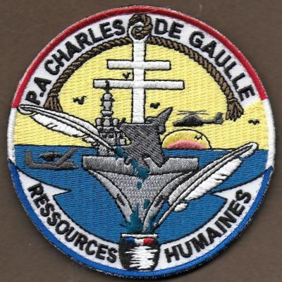 PA Charles de Gaulle - Ressources Humaines - mod 1