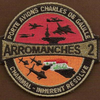 PA Charles de Gaulle - Arromanches 2 - Chammal - Inherent Resolve
