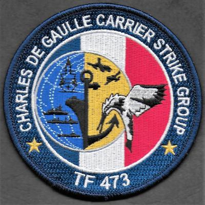 PA Charles de Gaulle CDG - Carrier stike Group TF473 - mod 1