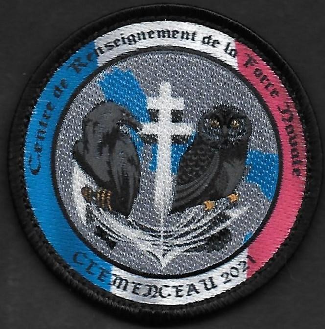 PA Charles de Gaulle - Centre de renseignement de la force navale - Clemenceau 2021
