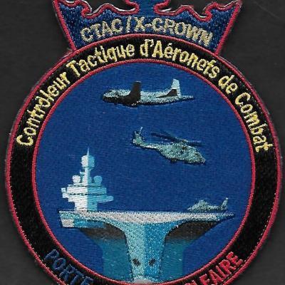 PA Charles de Gaulle - CTAC - Contrôleur Tactique d'Aéronefs de Combat - X-CROWN