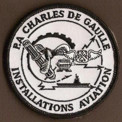 PA Charles de Gaulle - installations aviation - mod 1