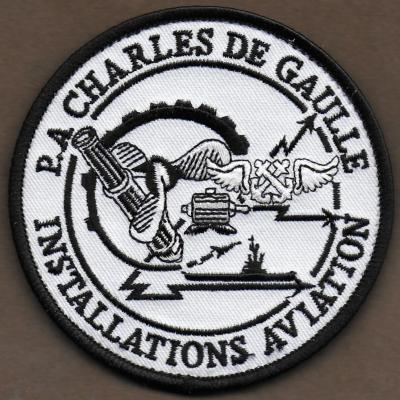 PA Charles de Gaulle - installations aviation - mod 2