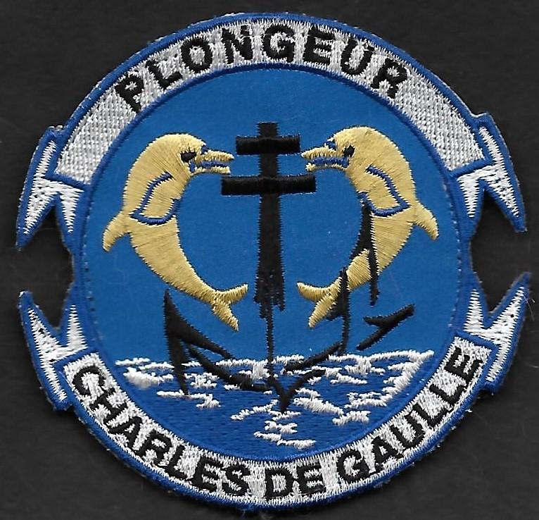 PA Charles de Gaulle - Plongeur - mod 2
