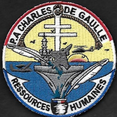 PA Charles de Gaulle - Ressources Humaines - mod 2