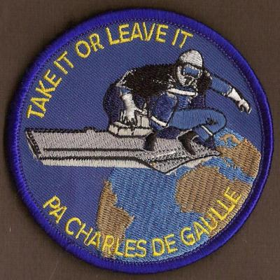 PA Charles de Gaulle - Rideau Man