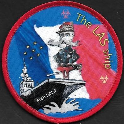 PA Charles de Gaulle - service LAS - Foch 2020 - the LAS ship