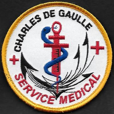 PA Charles de Gaulle - Service médical - mod 2
