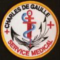 PA Charles de Gaulle - Service médical